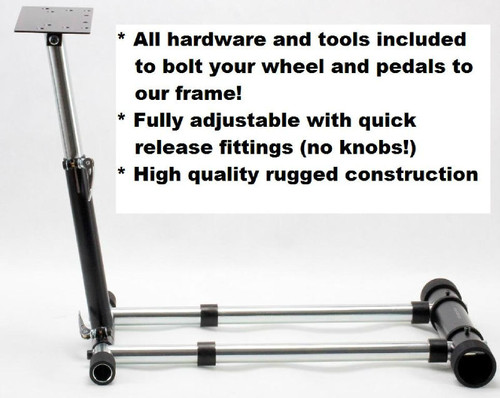 Wheel Stand Pro T500RS Deluxe For Thrustmaster T500RS Wheel.  Deluxe V2