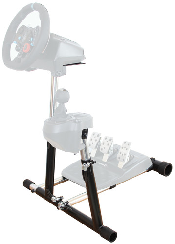 Wheel Stand Pro SuperG Steering Wheel Stand with RGS shifter mount Logitech G29, G920 G27 G25 Wheels, Deluxe, Wheel and Pedals Not included
