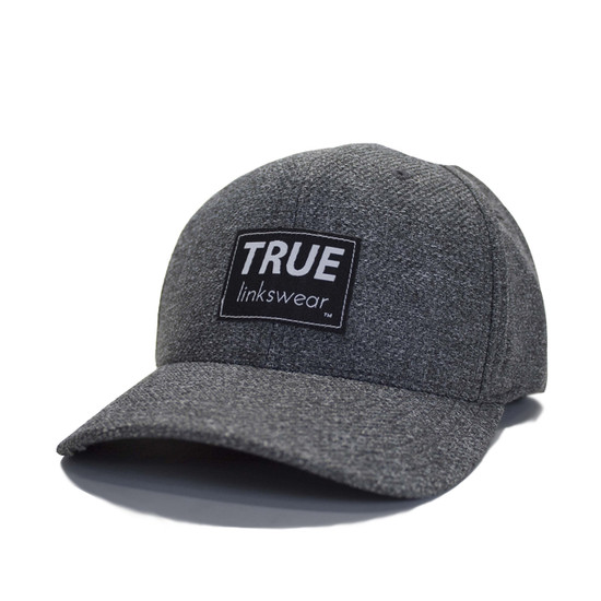 TRUE Heritage FlexFit - Charcoal Tweed/Black Icon