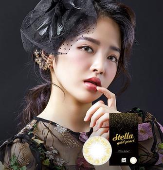 STELLA GOLD PEARL (2EA) (SILICONE HYDROGEL)