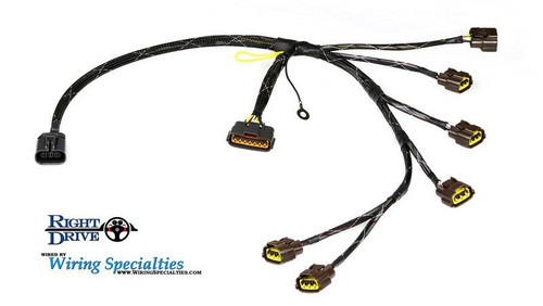 wiring specialties nissan skyline rb26 coil harness rh rightdriveparts com Wiring Diagram for Sr20 Swap Wiring Specialties Label