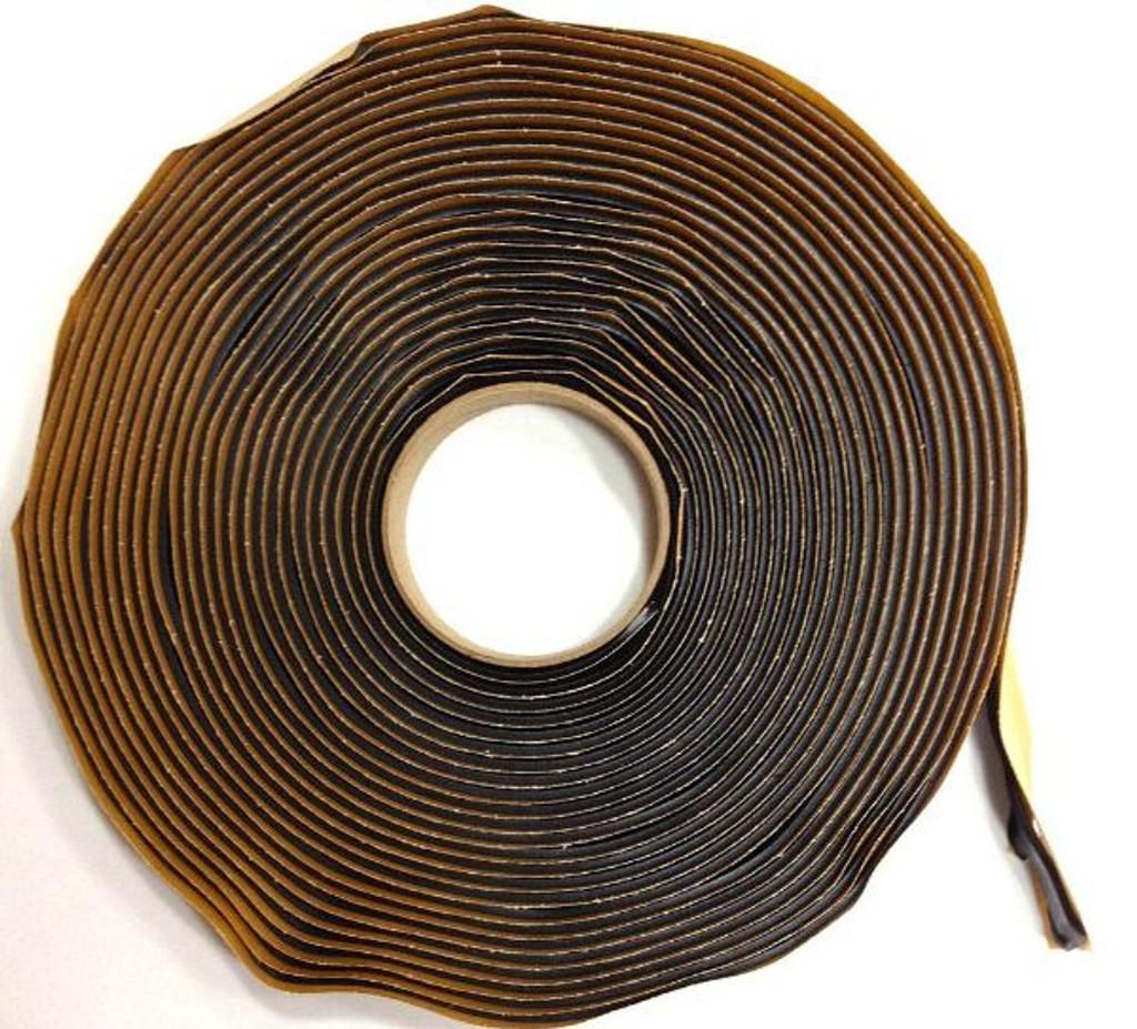 "Black Butyl Tape 3/4"" x 30'"