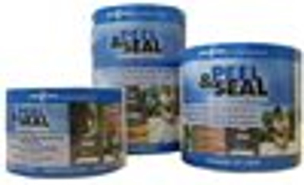 """Peel & Seal 6"""" x 33.5' White Self-Sticking Roll Roofing"""