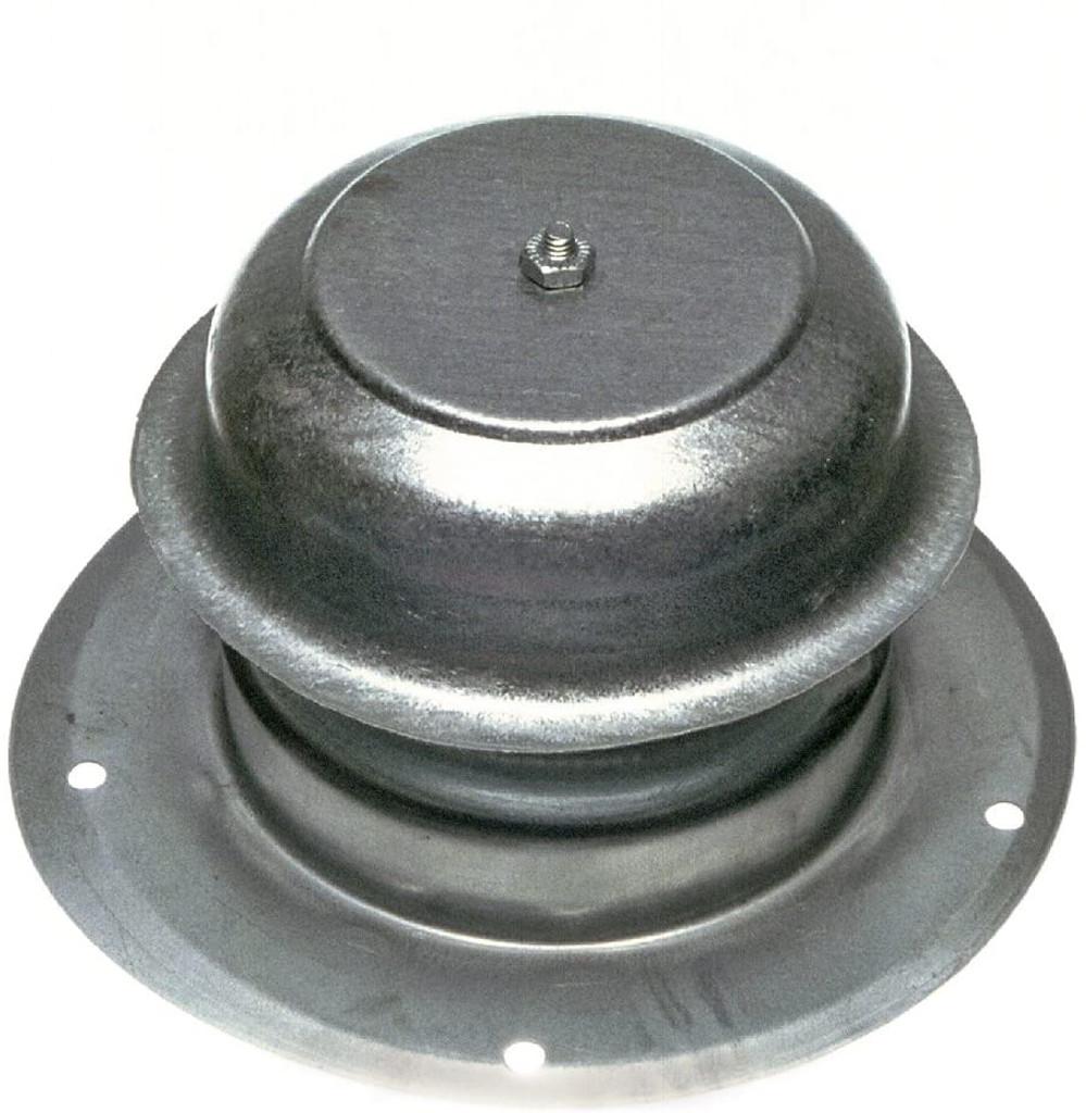 White Metal Plumbing Vent Cap