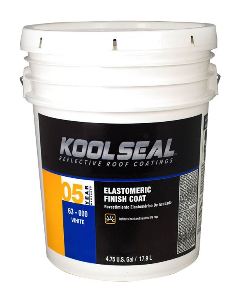 Kool Seal White Elastomeric 4.75 Gallon 5 Year