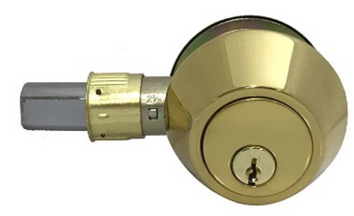 Brass Deadbolt Lock