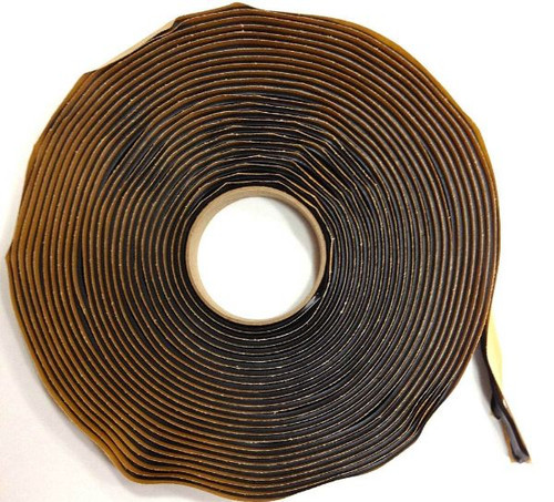 "Black Butyl Tape 3/4"" x 30'"