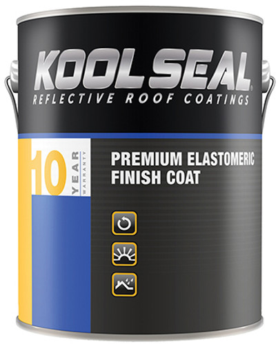 Kool Seal White Elastomeric 0.9 Gallon 10 Year
