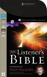 NIV, Listener's Audio Bible, Audio CD - ISBN: 9780310444343