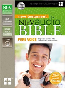 NIrV Audio Bible New Testament, Pure Voice - ISBN: 9780310751984