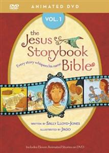 Jesus Storybook Bible Animated DVD, Vol. 1 - ISBN: 9780310738435