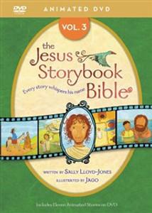 Jesus Storybook Bible Animated DVD, Vol. 3 - ISBN: 9780310738459