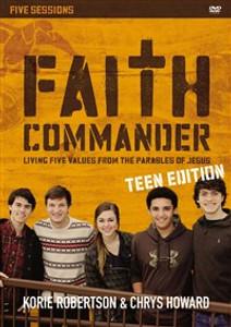 Faith Commander Teen Edition Video Study - ISBN: 9780310884514