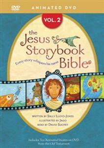 Jesus Storybook Bible Animated DVD, Vol. 2 - ISBN: 9780310738442