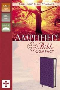 Amplified Bible, Compact, Imitation Leather, Purple - ISBN: 9780310439325