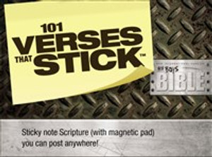 101 Verses that Stick for Boys based on the NIV Boys Bible - ISBN: 9780310729020