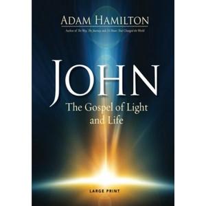 John [Large Print]: The Gospel of Light and Life - ISBN: 9781501805356