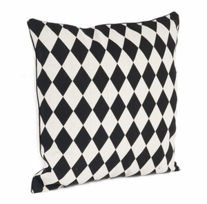 Harlequin Design Decorative Throw Pillow