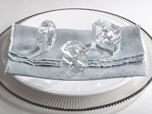 Elegant Wedding Events Crystal Design Napkin Rings