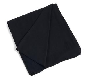 Classic Bamboo Design Throw Blanket, Black