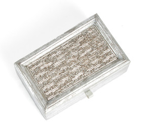 Beaded Design Decorative Bejeweled Boxes