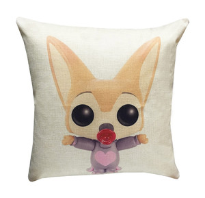 Zootopia Characters 17-inch Decorative Throw Pillow Cover Case (Baby Finnick)