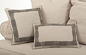 Posh Beaded Decorative Throw Pillow