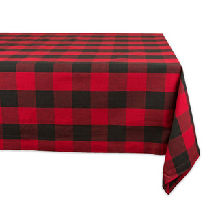 Fennco Styles Buffalo Plaid Check Classic Cotton Blend Collection