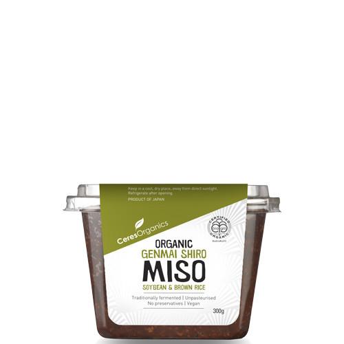 Ceres Organics Miso Genmai Shiro