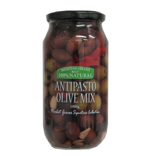 Market Grocer Antipasto Olive Mix