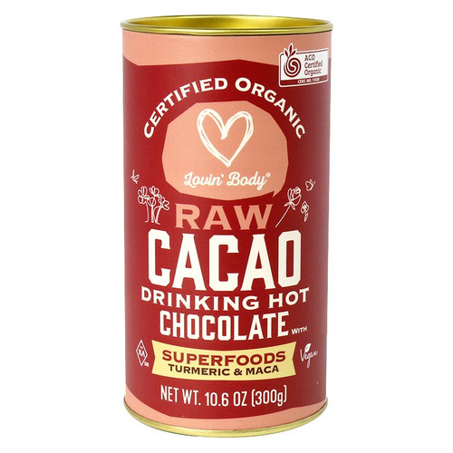 Lovin Body Raw Cacao Drinking Hot Chocolate Superfoods