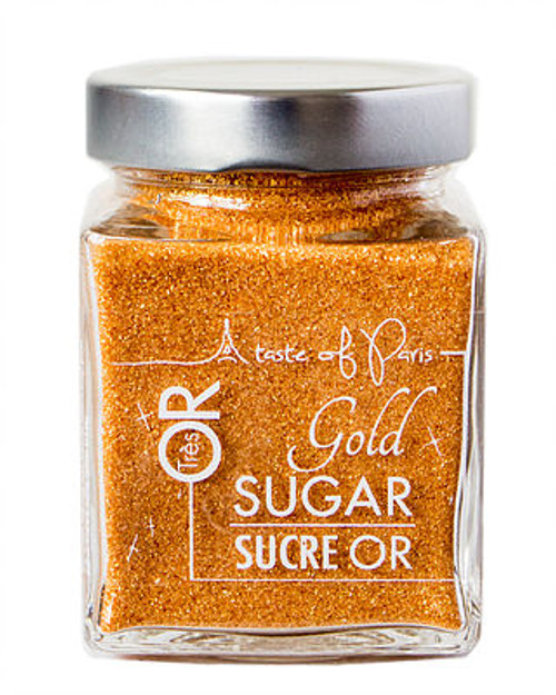 A Taste of Paris Gold Sugar