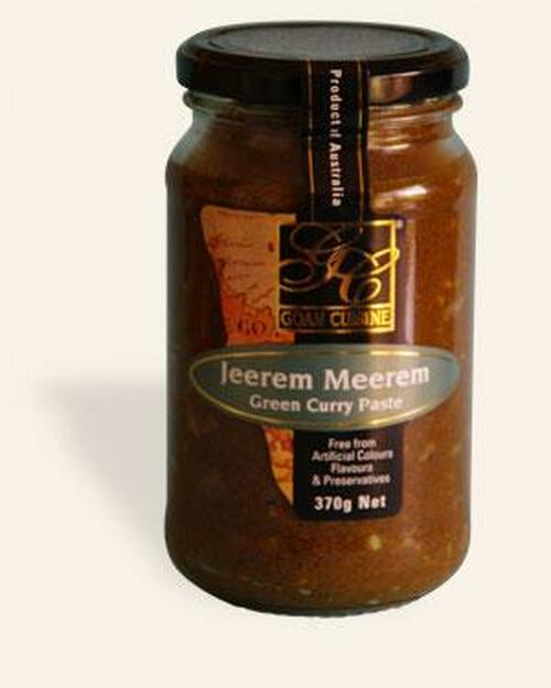 Goan Cuisine Jereem Meerem (Green Curry Paste)