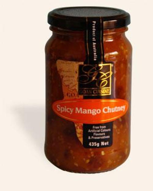 Goan Cuisine Spicy Mango Chutney