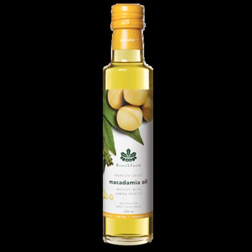 Brookfarm Macadamia Oil Lemon Myrtle Infused