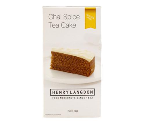 Henry Langdon Chai Spice Tea Cake Gluten Free