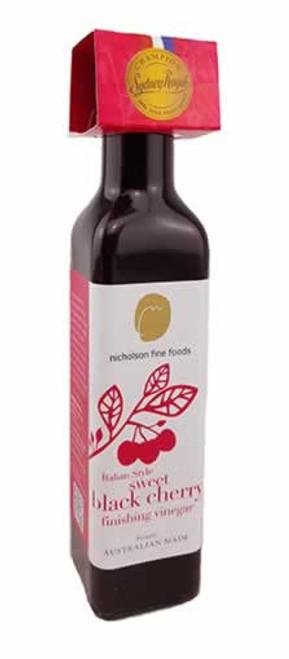 Nicholson's Fine Foods Italian Style Sweety Black Cherry Finishing Vinegar Box