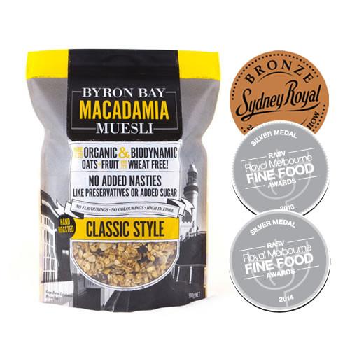 Byron Bay Macadamia Muesli Classic Style