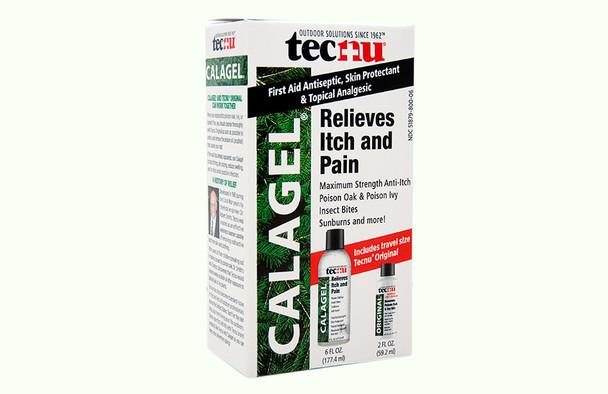 TECNU CALAGEL MEDICATED ANTI-ITCH GEL 6 OZ, 24 BOTTLES