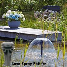 Lava Nozzle Attachment Spray Pattern