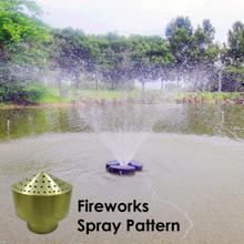Fireworks Matala Brass Fountain Nozzles