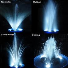 Matala Brass Fountain Nozzles Spray Patterns