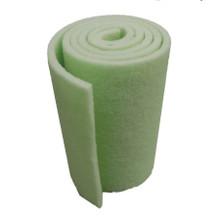 "1"" Dense Lime Green Bulk Filter Mat"