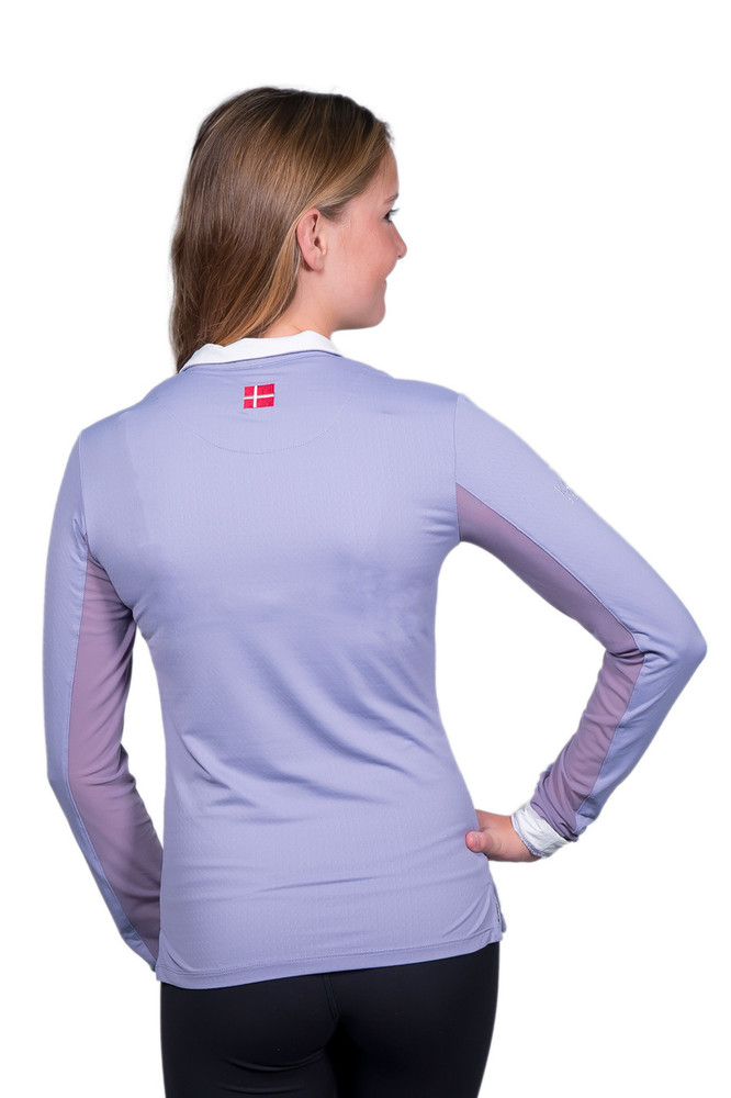 Charlotte Signature Collection Lavender Grey with White Trim