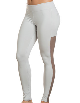 Charlotte Athletic Pants Grey with Charcoal Trim