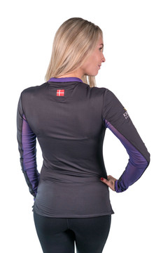 Charlotte Signature Collection Black with Purple Trim