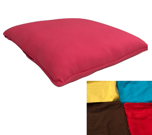 90 cm square floor cushion Heavy Duty Cotton Drill  Colors available