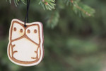 I Love Cloth Wooden Natural Air Fresheners