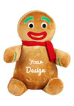 Cubbie Embroidered Ginger Bread Man