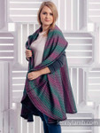 Lenny Lamb Cardigan Wrap Jacket